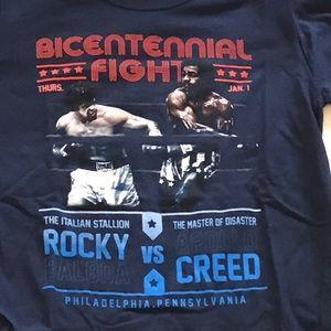 Funko Tops - Funko Vintage Inspired Rocky vs Creed Fight Shirt